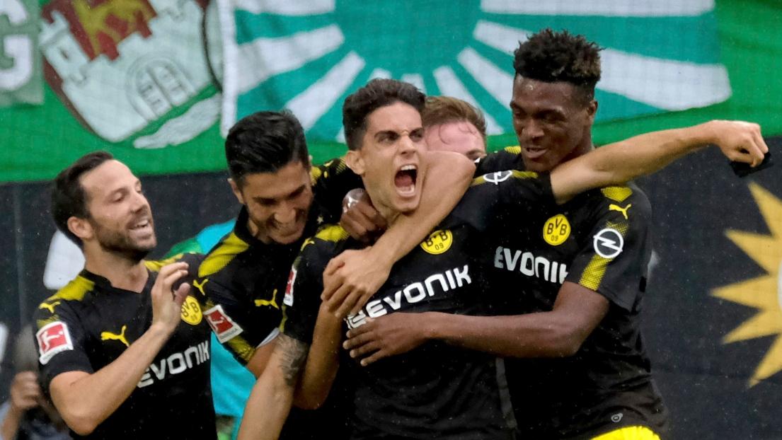 Dortmund démarre fort, Aubameyang buteur — Bundesliga