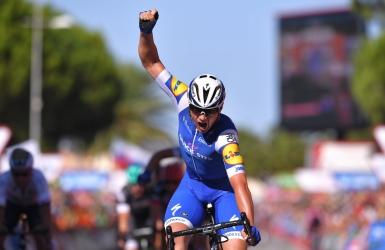 Vuelta : Lampaert l'emporte et prend la tête