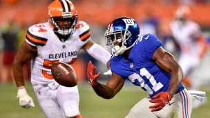 Giants 6 - Browns 10