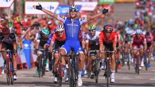 Trentin remporte la 4e étape de la Vuelta