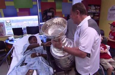 Martin fait des heureux avec la Coupe Stanley