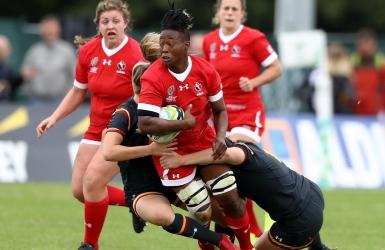 Rugby : les Canadiennes viseront le 5e rang