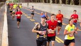 Des coureurs au Marathon de Québec