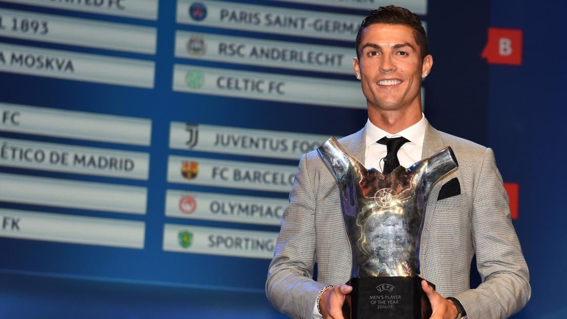 Cristiano Ronaldo élu joueur UEFA de la saison pour la troisième ... e9fd21d4f4f2d