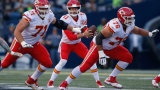Mitch Schwartz, Alex Smith et Laurent Duvernay-Tardif