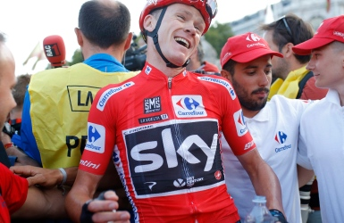 Chris Froome, meilleur cycliste en 2017