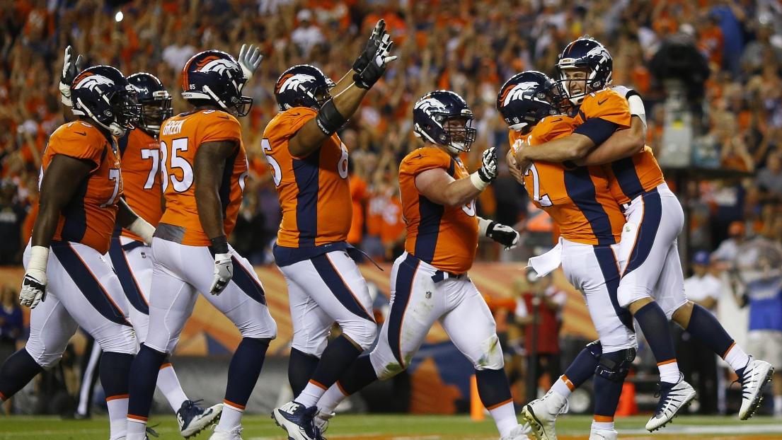 Les Broncos célèbrent