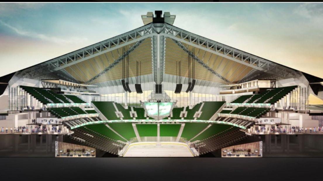 Aréna futur de Seattle