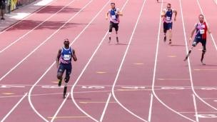 Jeux Invictus : l'athlétisme
