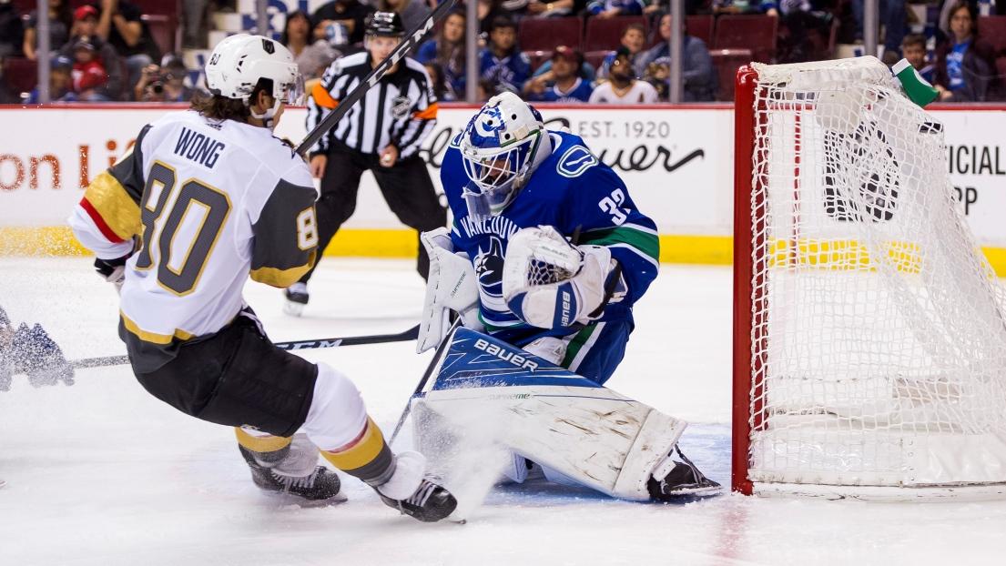 Les Golden Knights écrasent les Canucks