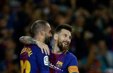 Barça : Lionel Messi s'offre quatre buts