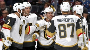 Golden Knights 4 - Avalanche 1
