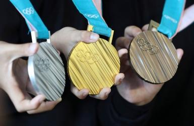 Pyeongchang : les médailles dévoilées