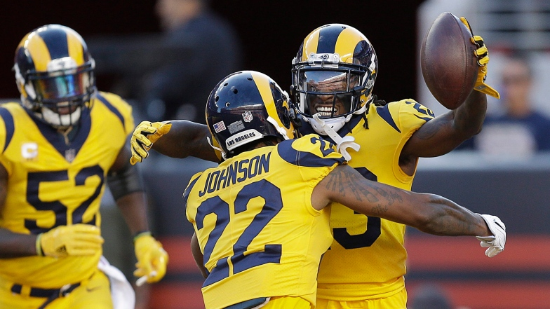 Nickell Robey-Coleman et Trumaine Johnson