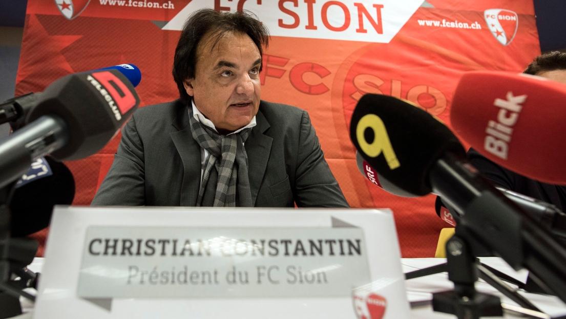 JO 2026: Christian Constantin démissionne
