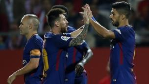 Girona 0 - FC Barcelone 3