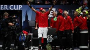 Kyrgios procure une victoire pour l'équipe Monde