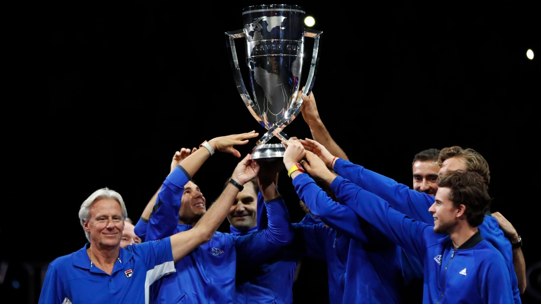 Federer/Djokovic perdent, l'Europe mène toujours — Laver Cup