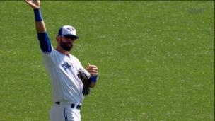 Toronto rend un bel hommage à Bautista