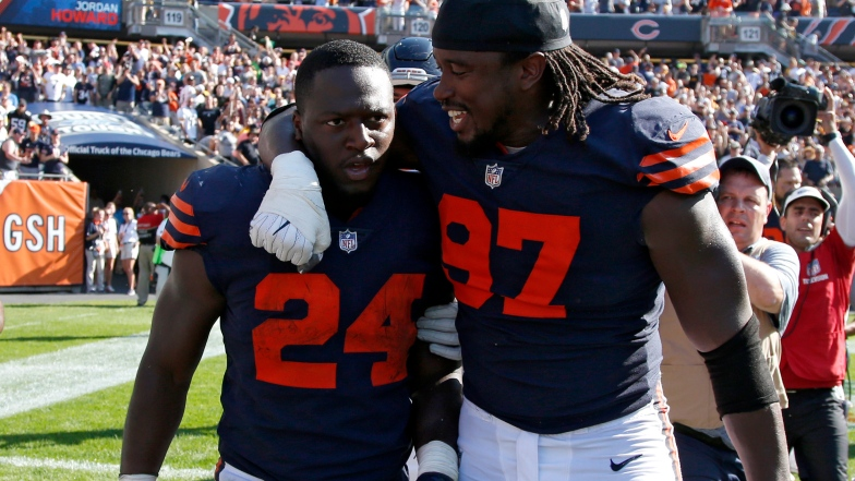 Jordan Howard et Willie Young