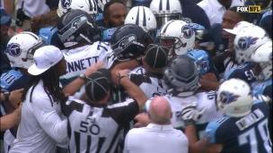 Sherman met le feu aux poudres face aux Titans