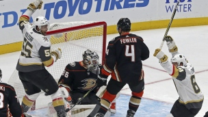 Golden Knights 4 - Ducks 2
