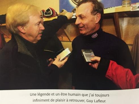 Bertrand Raymond et Guy Lafleur