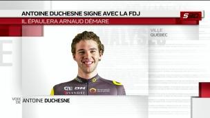 Antoine Duchesne s'entend avec FDJ