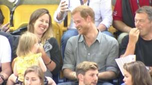 Le Prince Harry continue de s'amuser aux Jeux Invictus