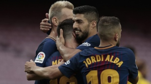 FC Barcelone 3 - Las Palmas 0
