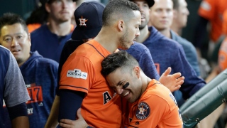George Springer et Jose Altuve