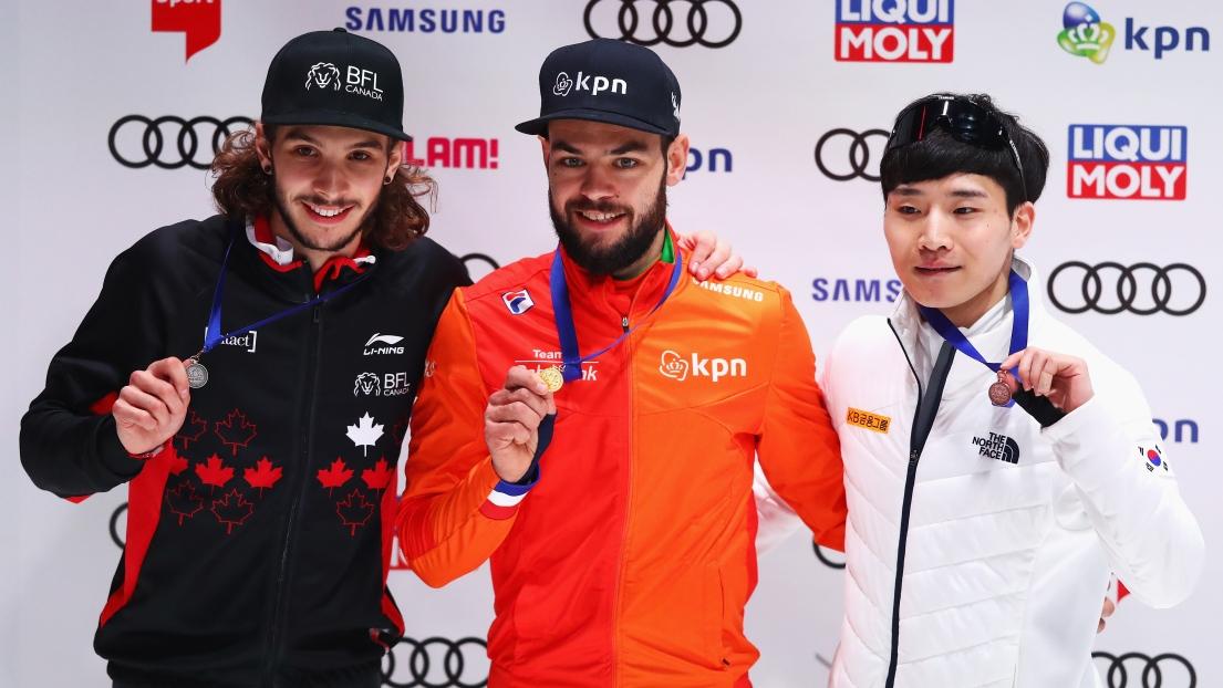 Samuel Girard remporte l'argent aux Pays-Bas
