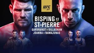 En route vers l'UFC 217 : le retour de GSP