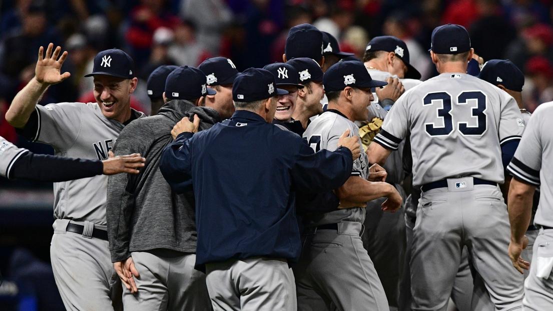 Célébrations du côté des Yankees