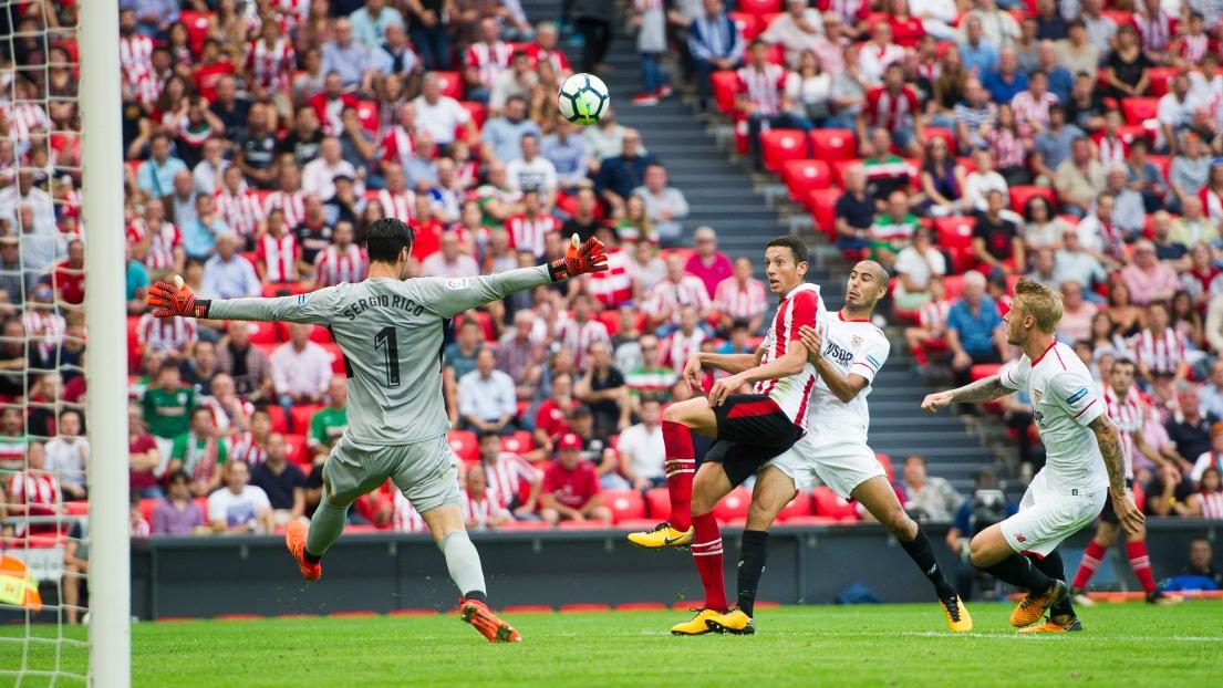 Avec cinq Français titulaires, Séville tombe à Bilbao