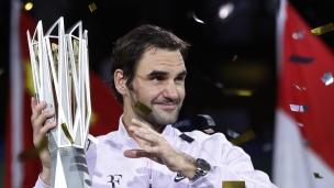 Un 94e titre en carrière pour le Roi Roger