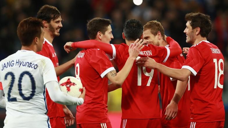 L'équipe nationale russe