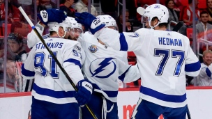 Lightning 3 - Red Wings 2