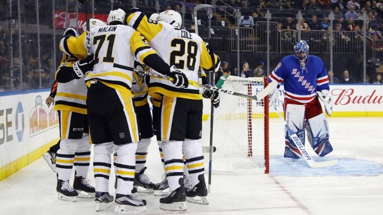 Les Penguins célèbrent
