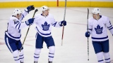 Morgan Rielly, Connor Brown et James van Riemsdyk