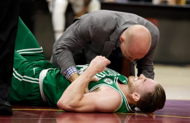 Les Celtics perdent le match et Hayward