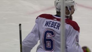 Weber avec un plomb en supériorité