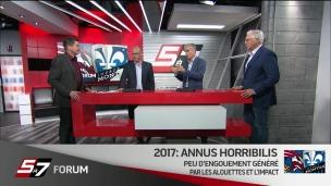 Forum du 5 à 7 : Année difficile à Montréal