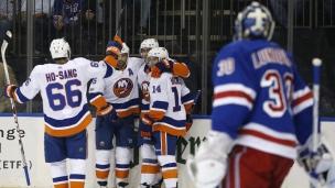Islanders 4 - Rangers 3 (Tirs de barrage)