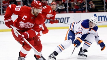 Oilers 1 - Red Wings 2