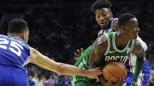 Celtics 102 - 76ers 92