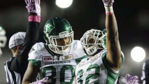 Roughriders 30 - Stampeders 7