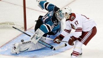 Sharks 0 - Coyotes 1 (Fus.)