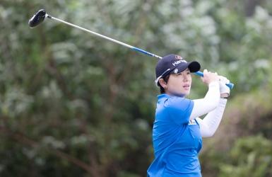 Eun-Hee Ji devant, Kerr chute drastiquement