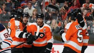 Oilers 1 - Flyers 2